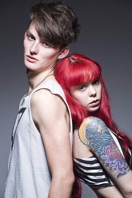 Lewis and Brianna © Leland Bobbé