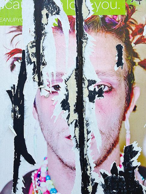 Split Face © Leland Bobbé